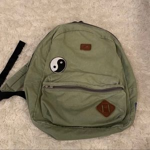 Green vans backpack